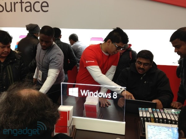 Windows 8 vende 40 millones de licencias en su primer mes