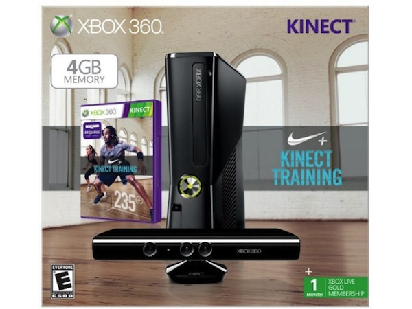 Aparece una Xbox 360 con Kinect y Nike+