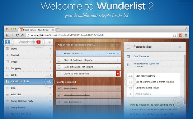 Wunderlist 2 abandona HTML5 y apuesta por apps nativas para iOS, Android, Windows y Mac