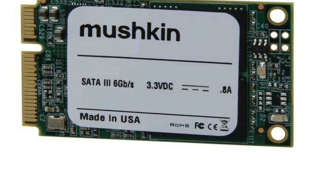 Mushkin presenta la primera unidad SSD mSATA de 480 GB del mundo