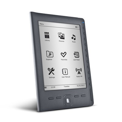 Energy Sistem presenta el Energy eReader e6 Rubber Grey