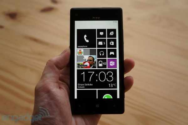 El HTC Windows Phone 8X ya tiene su primer parche