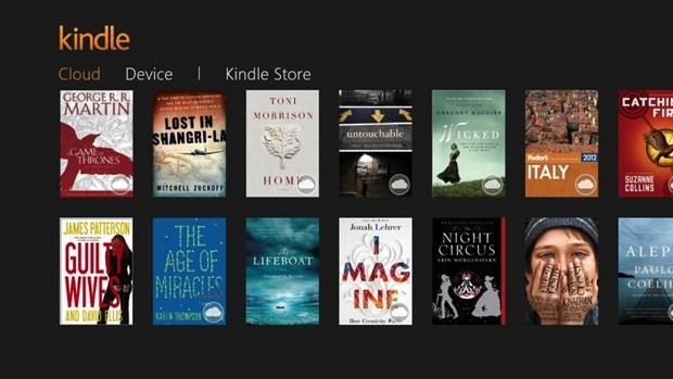 Amazon Kindle para Windows 8 y RT se actualiza para permitir las compras a través de pantallas táctiles