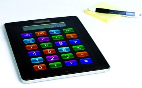 App Calculator, la calculadora solar que quiso ser un... tablet