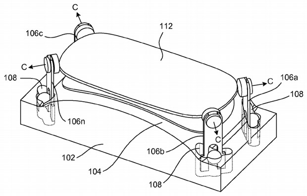 Apple patenta un sistema para fabricar pantallas de cristal curvadas