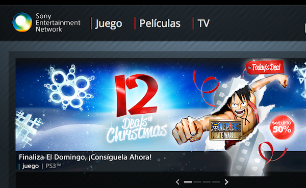Sony Entertainment Network se presenta como la tienda de contenidos online