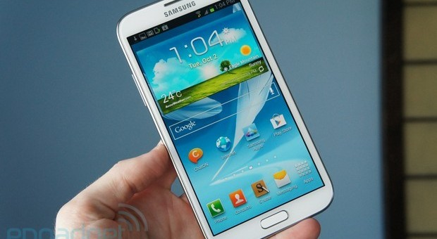 El Galaxy Note II comienza a recibir la actualizacin 4.1.2 de Android