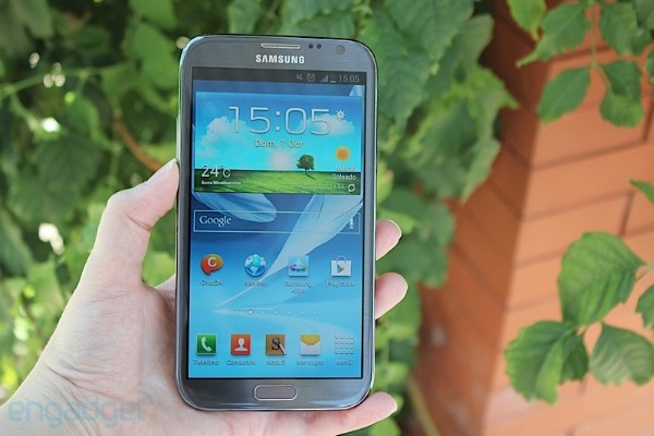 El Samsung Galaxy Note II supera el milln de unidades en Corea y podra alcanzar los 10 millones globales en el primer trimestre de 2013