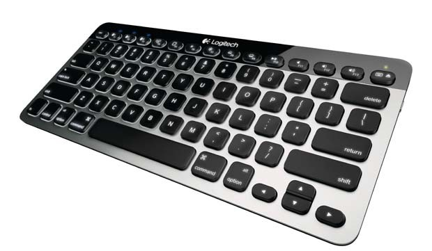 logitech teclado trackpad mac