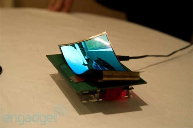 Samsung Display mostrar una pantalla flexible de 5,5 pulgadas en el CES 2013