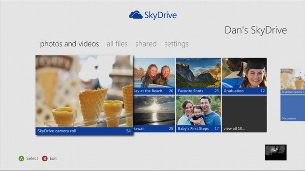 SkyDrive llega a Xbox 360 y Microsoft nos avanza 43 nuevas apps que llegarn a la consola en 2013 (vdeo)
