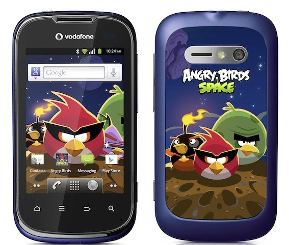 Vodafone Smart II se deja seducir por Angry Brids en una edicin especial