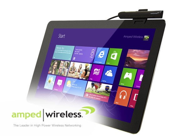 Amped Wireless amplifica la seal WiFi de tu tablet Windows 8 con su adaptador TAN 1