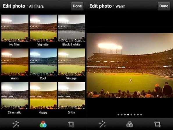 Twitter incluye filtros para fotos en sus aplicaciones de Android y iOS