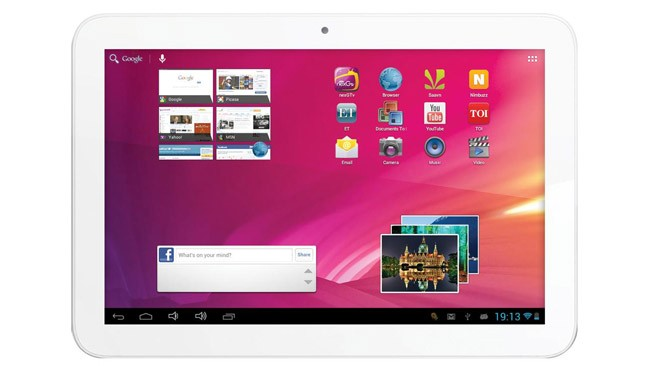 Videocon, un tablet indio de 10,1'', Jelly Bean y precio muy tentador