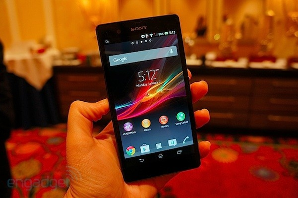 Sony Xperia Z en nuestras manos (¡con video!)