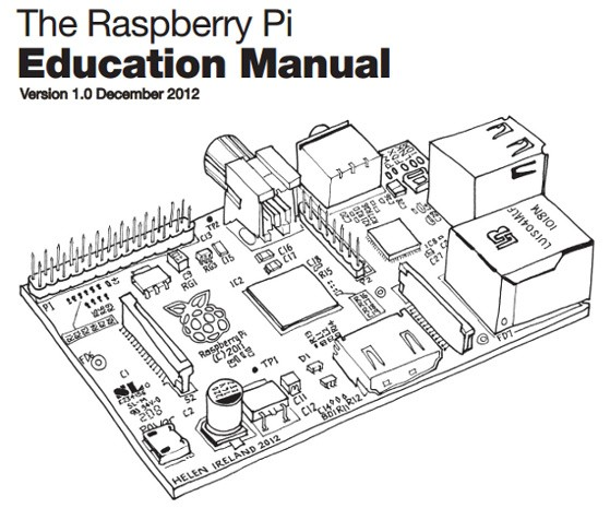 El Raspberry Pi ya tiene su manual educativo de cdigo abierto