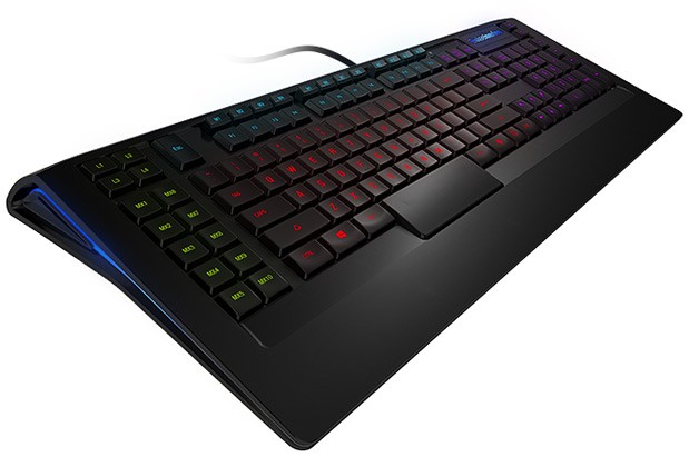 SteelSeries Apex y Apex [RAW]: nuevos y coloridos teclados para los amantes de los juegos