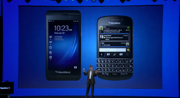 El evento de BlackBerry 10 en vdeo