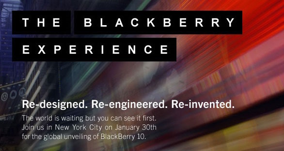 En directo desde la conferencia BlackBerry 10 Experience