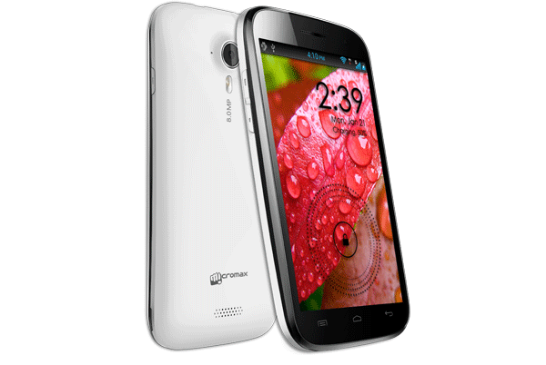 Micromax Canvas HD económico se venderá en india en febrero