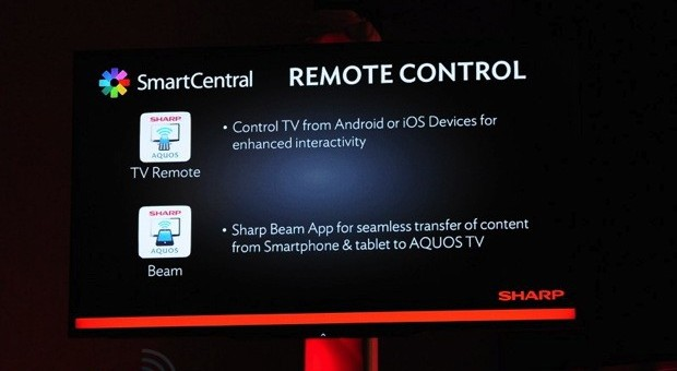 Sharp mejora la conectividad y las funciones de su Smart TV con SmartCentral