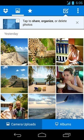 Dropbox para Android se actualiza y permite compartir fotos de una forma ms rpida