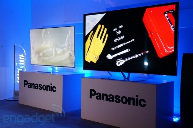 Un vistazo a la nueva coleccin de HDTV de Panasonic