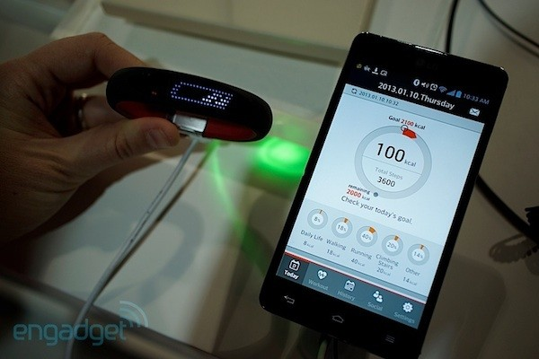 LG también se ha propuesto monitorizar tu actividad con Smart Activity Tracker (¡en video!)