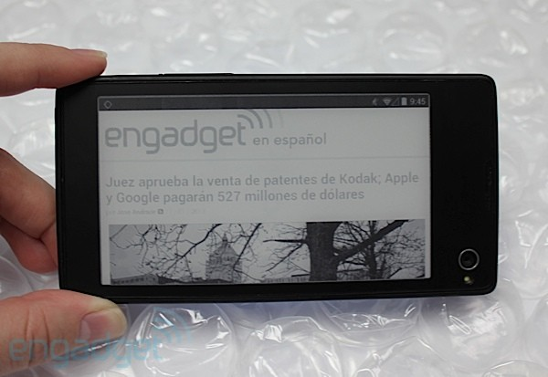 YotaPhone en nuestras manos