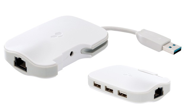 Kanex DualRole aade un puerto Ethernet y tres USB 3.0 a tu MacBook o Ultrabook