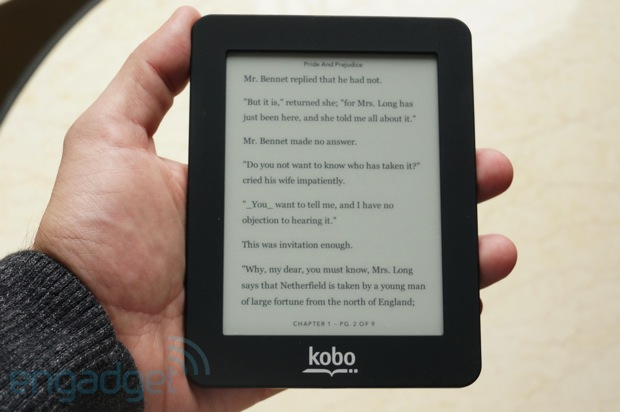 Kobo celebra 'millones' de unidades vendidas en 2012