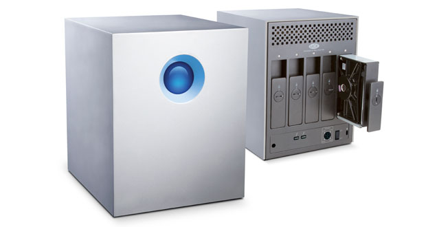 LaCie anuncia su serie 5big Thunderbolt con hasta 20 TB de almacenamiento