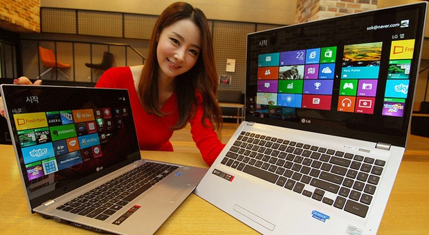 LG vuelve a la carga con el U560, un ultrabook de 15,6'' (vdeo)