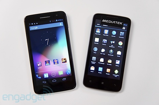 Alcatel prepara el lanzamiento del One Touch Scribe HD con chip quad-core de MediaTek