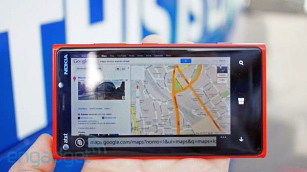 Google Maps nuevamente puede usarse en Windows Phone