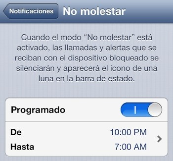 Problemas con la opcin 'No Molestar' de iOS sern solucionados el 7 de enero