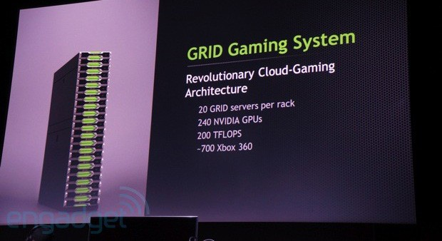 NVIDIA pone a OnLive y Gaikai en la diana con GRID, su plataforma de procesamiento en la nube