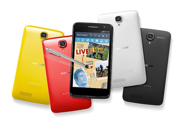 Alcatel One Touch Scribe HD se apunta a la moda de los smartphones con stylus