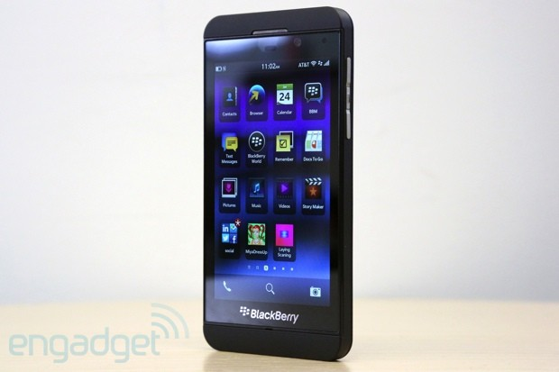 BlackBerry Z10 asoma en eBay por... 1.000 dlares!