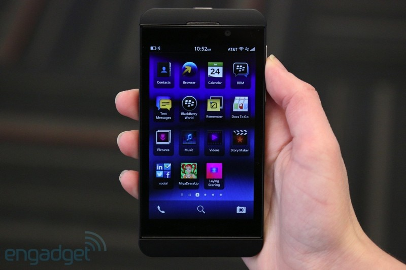 BlackBerry Z10 llegar a Espaa con Vodafone por un precio entre cero y 519 euros