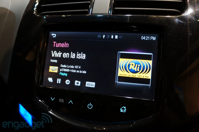 TuneIn y Siri se cuelan en los coches de General Motors va MyLink (con vdeo!)