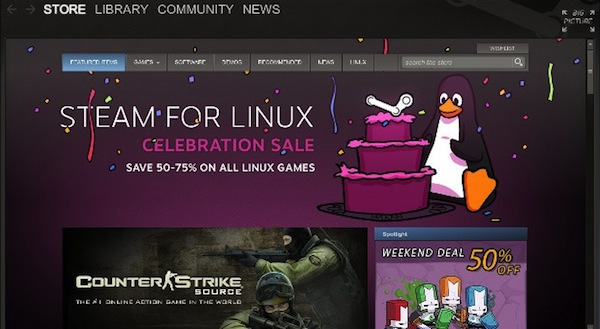 Steam finalmente disponible en el Ubuntu Software Center, con excelentes descuentos por tiempo limitado