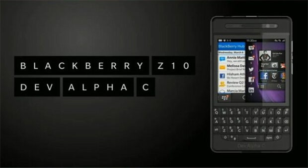 BlackBerry deja ver el Dev Alpha C, un nuevo dispositivo para desarrolladores con teclado fsico