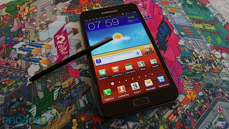 Samsung da el pistoletazo de salida a Jelly Bean para el Galaxy Note original