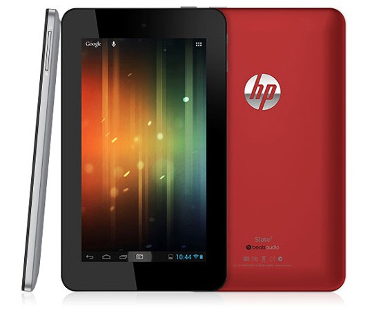 HP Slate 7 hace acto de presencia: 7 pulgadas, Jelly Bean y Beats audio; disponible en abril por 169 dólares