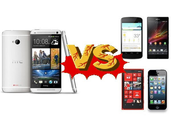 HTC One planta cara a la competencia: Nexus 4, Sony Xperia Z, iPhone 5 y Lumia 920