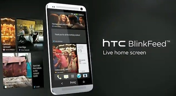htc one blinkfeed tv