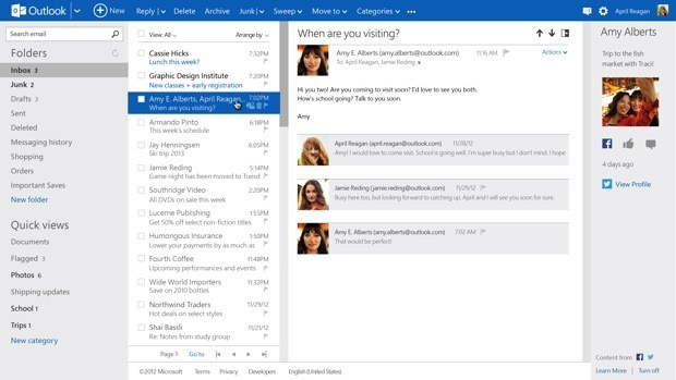 Outlook abandona su beta anunciando que cuenta con 60 millones de usuarios