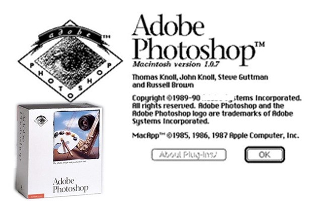 Photoshop v1.0.1 se hace pblico por obra y gracia del Museo de Historia de la Computacin de California